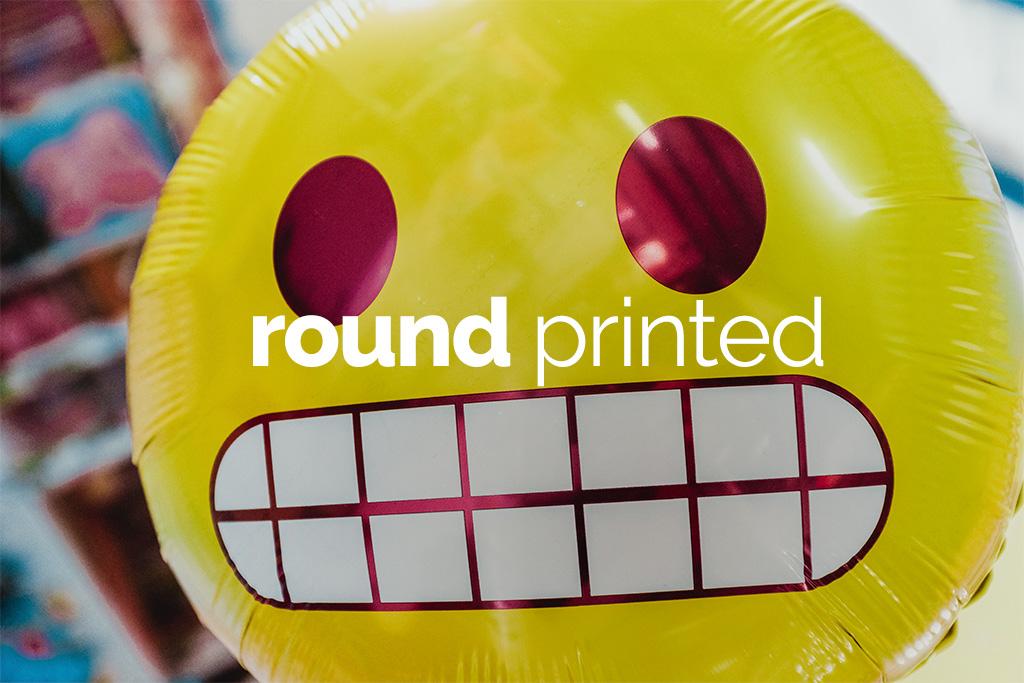 Round printed