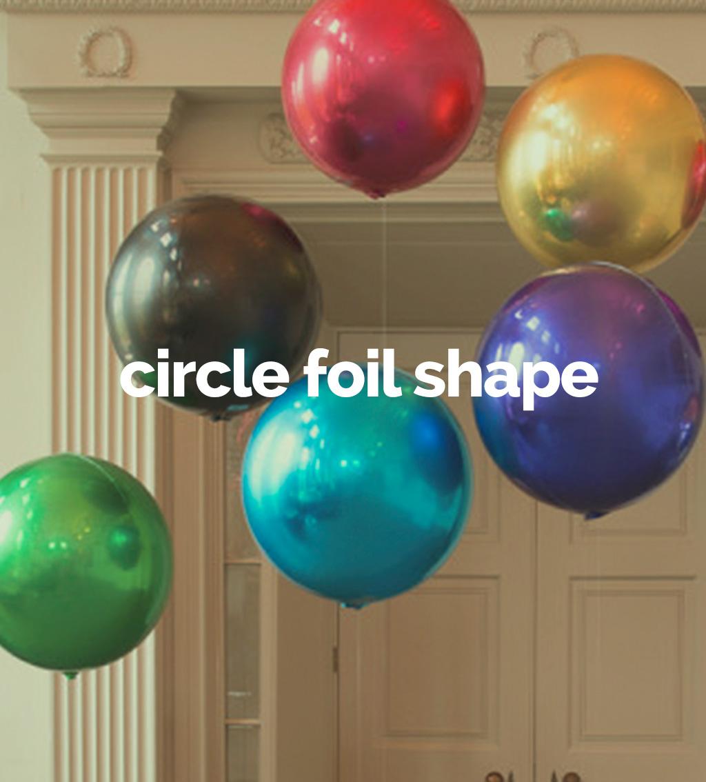 Circle foil shape