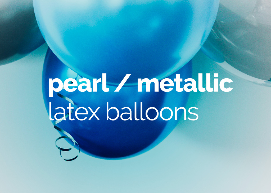 Pearl Metallic Latex Balloons