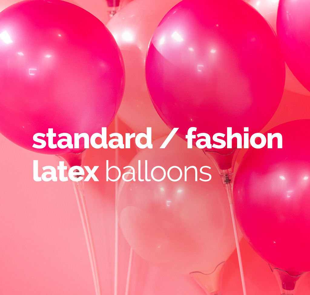 Standard Fashion Latex Balloons
