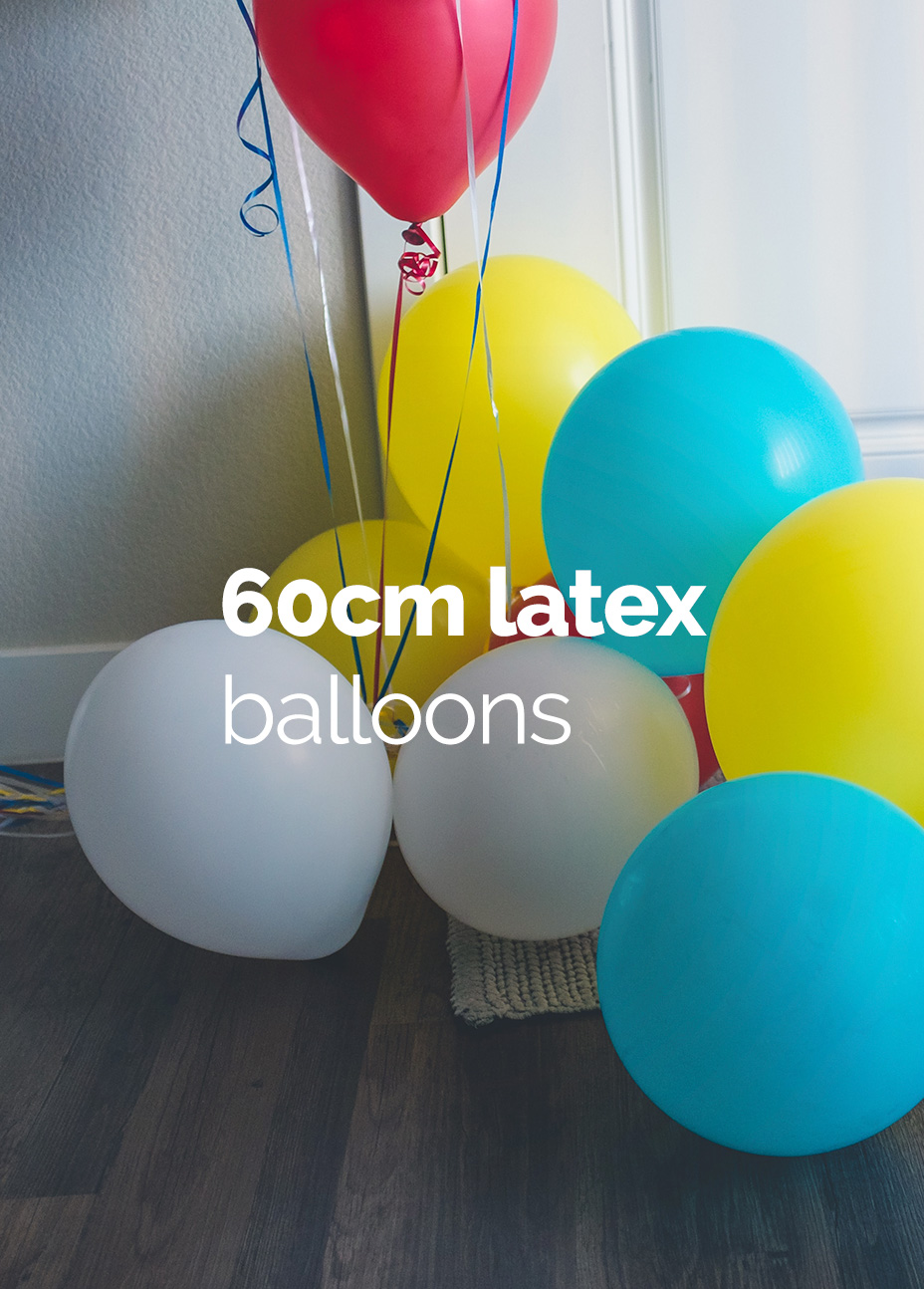 60cm Round Latex Balloons