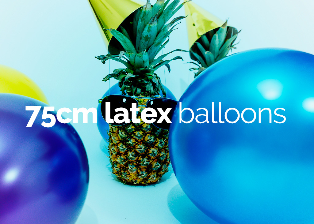 75cm Round Latex Balloons