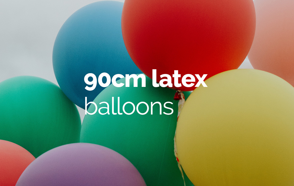 90cm Round Latex Balloons