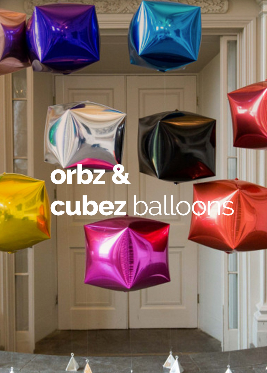 Orbz and Cubez Balloons