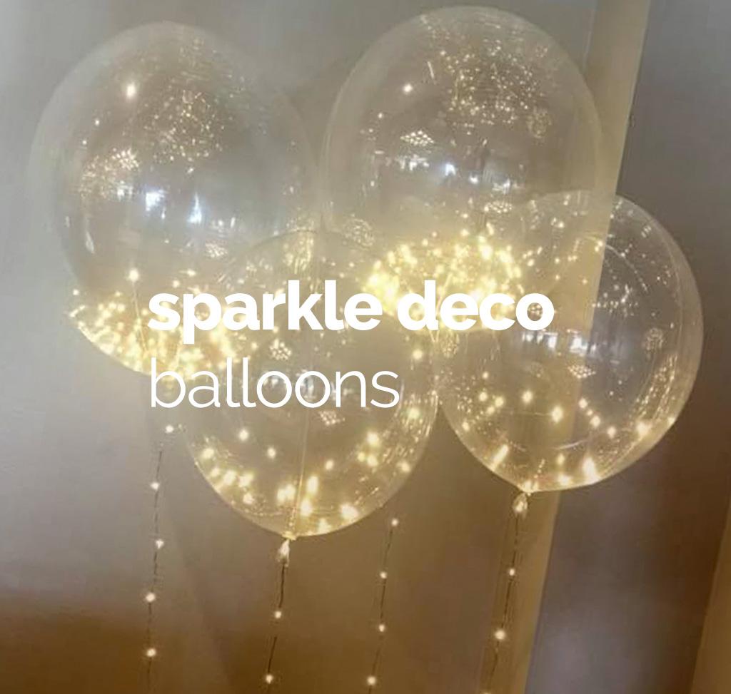 Sparkle Deco Balloons