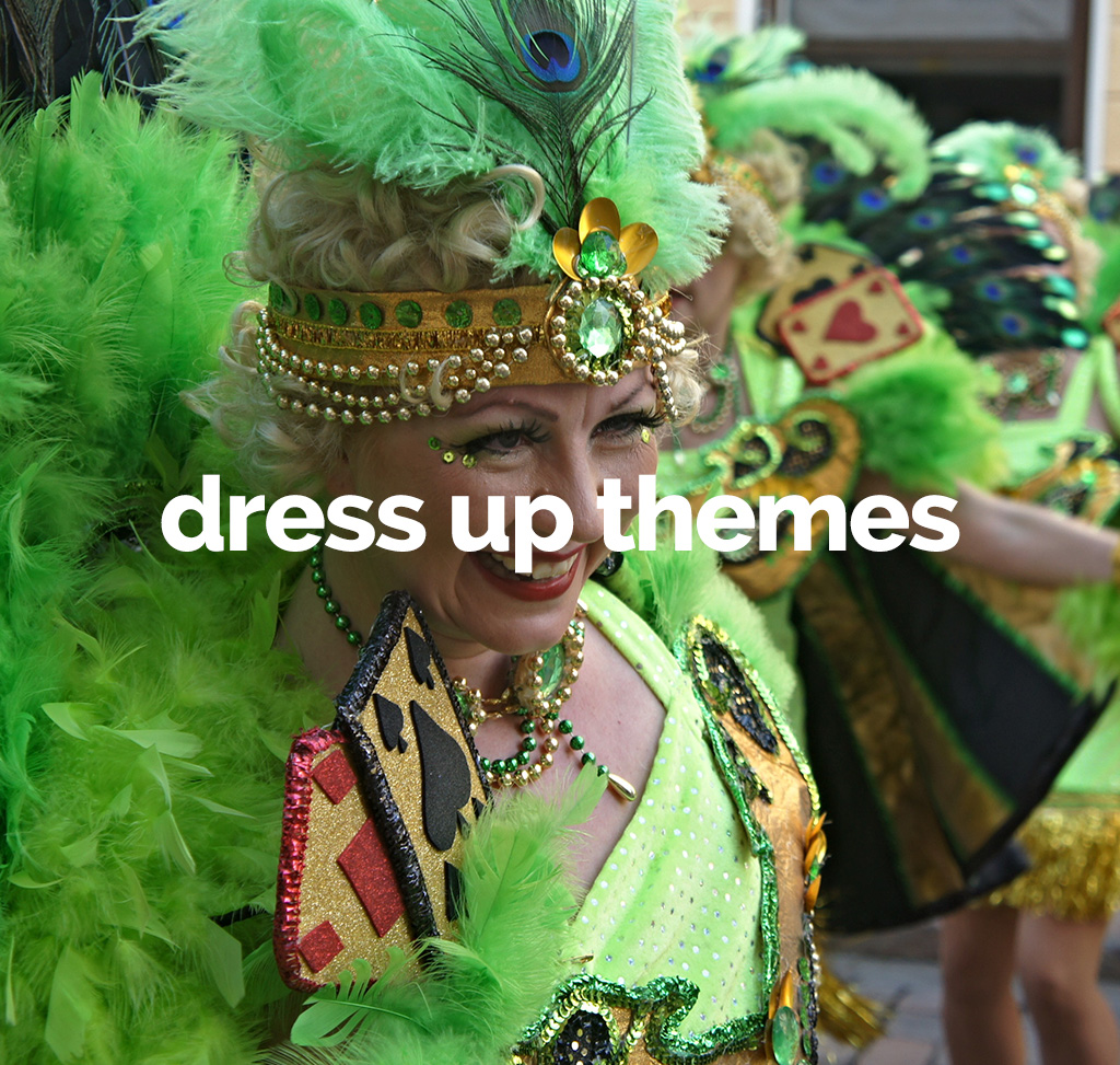 dress up themes