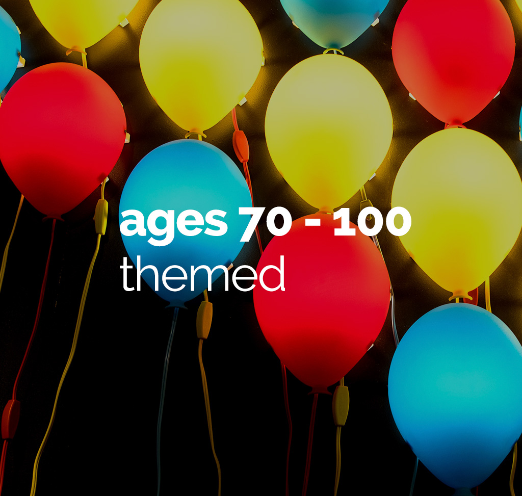 age 70 to 100