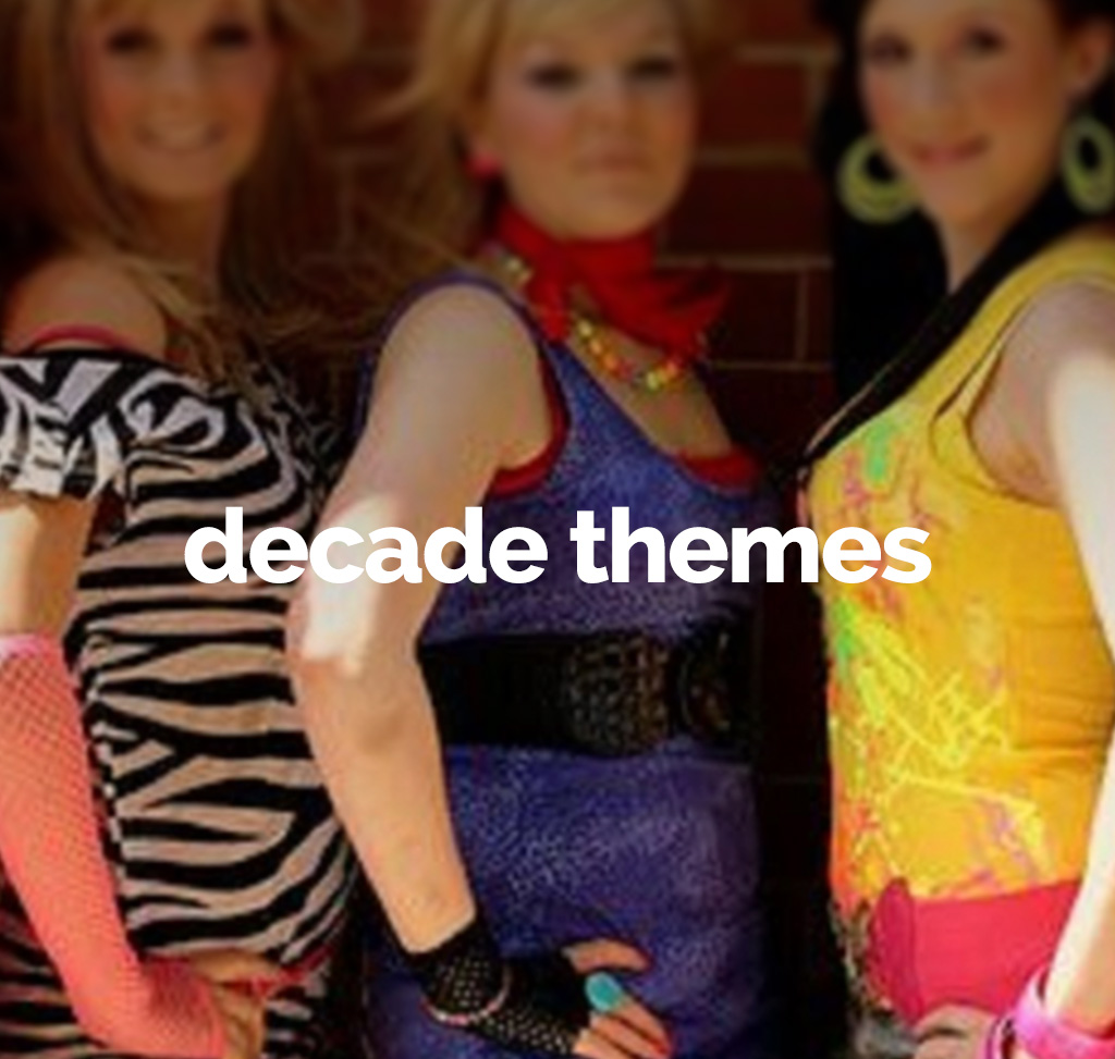 decade themed