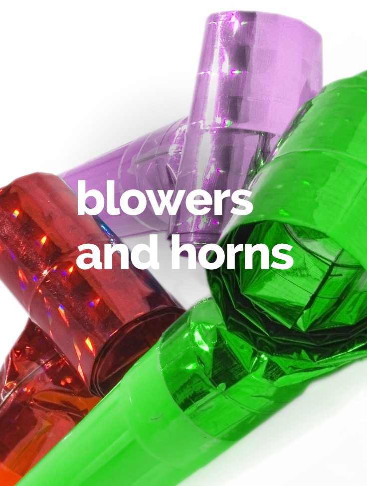 blowers and horns