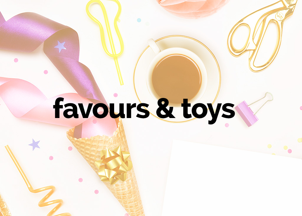 favours and toys