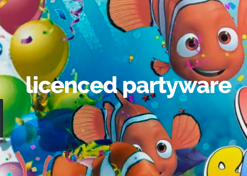 Licenced partyware