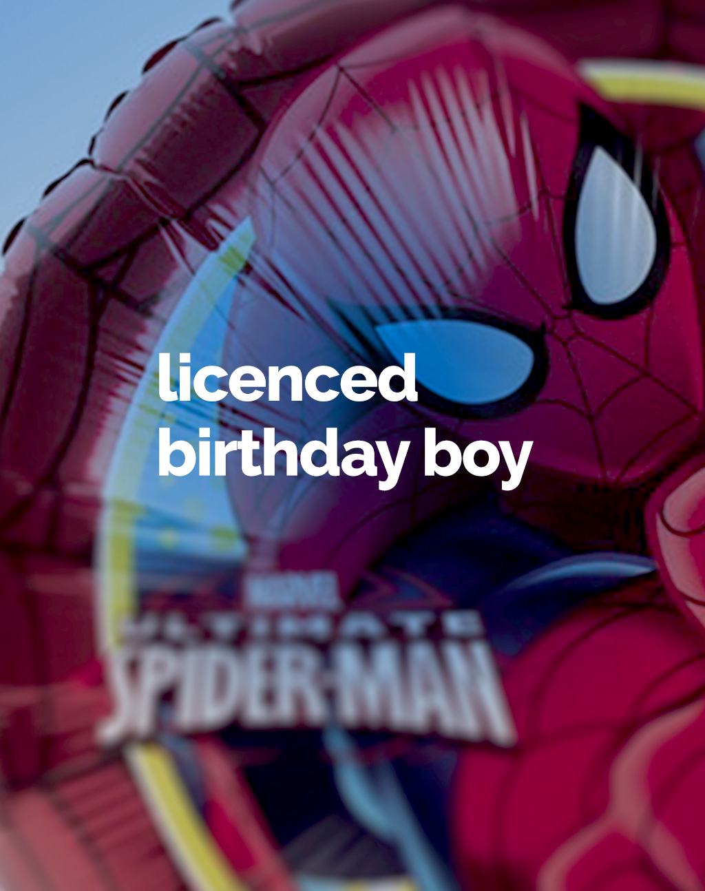 Licenced boy partyware