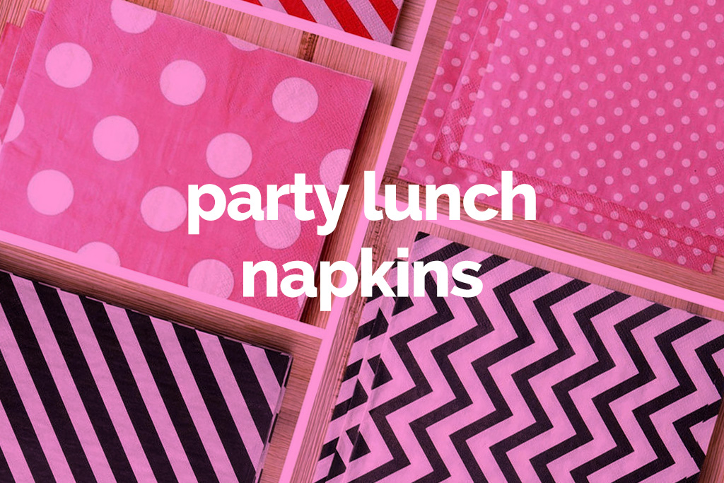 party lunch napkins