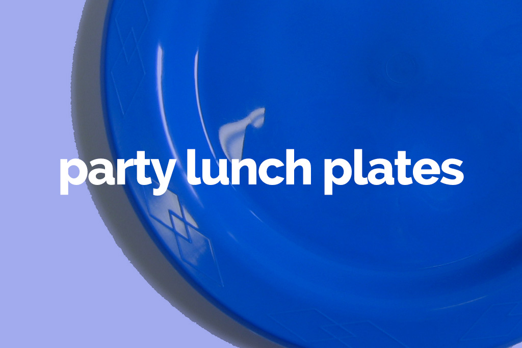 party lunch plates