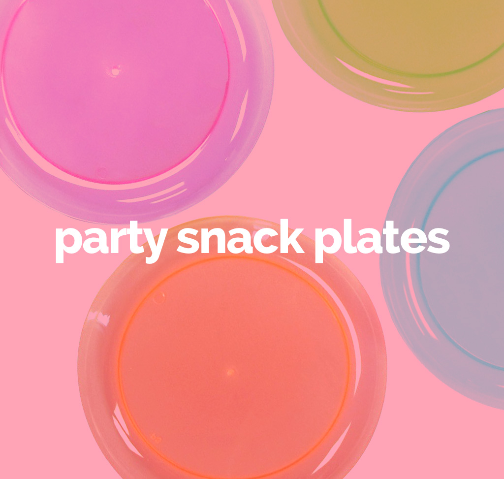 party snack plates
